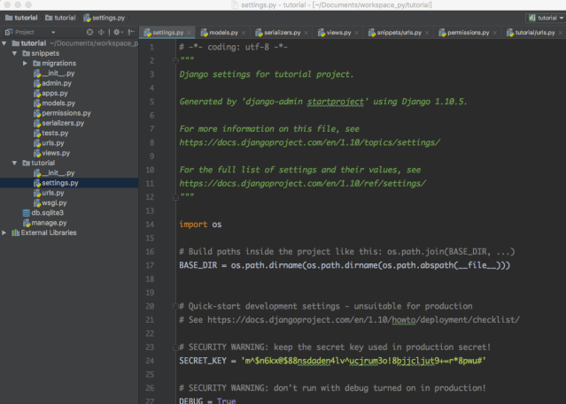 基于Django REST FrameWork 快速搭建开发的api以及docs – daemon